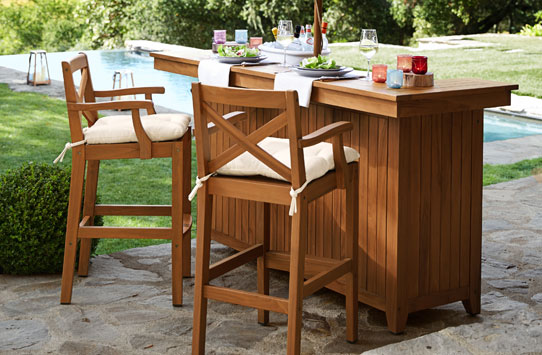 Outdoor Bar Furniture Amp Patio Bar Furniture Pottery Barn