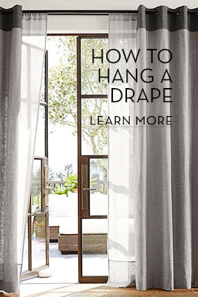 How To Hang A Drape