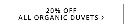 Organic Duvet Sale