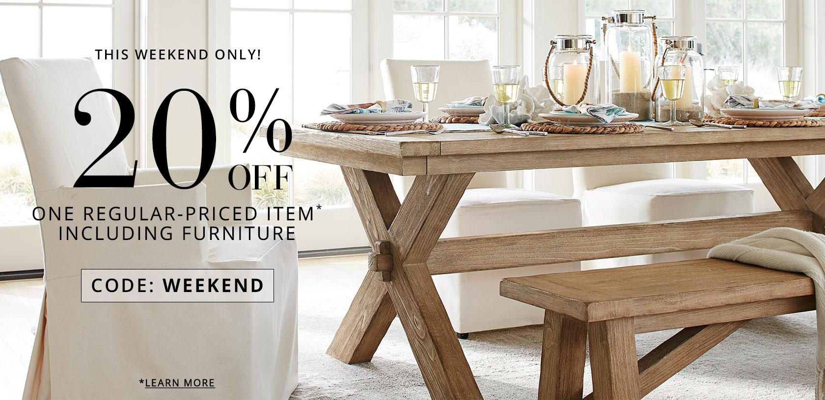 20% Off 1-item
