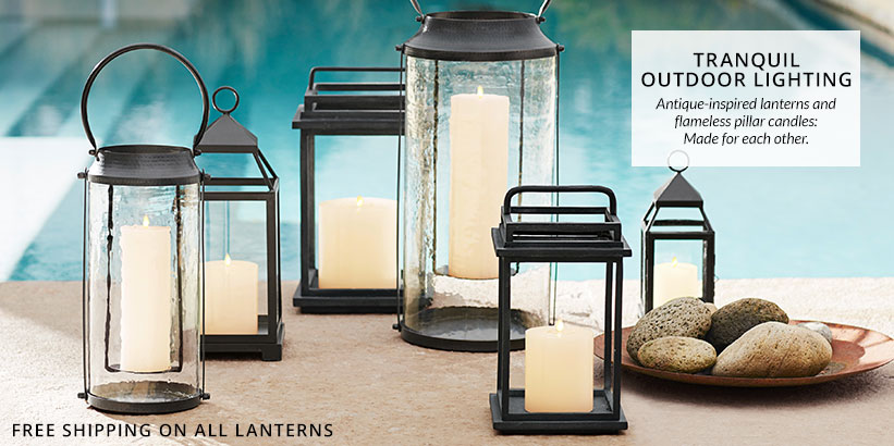 Tranquil Outdoor Lighting