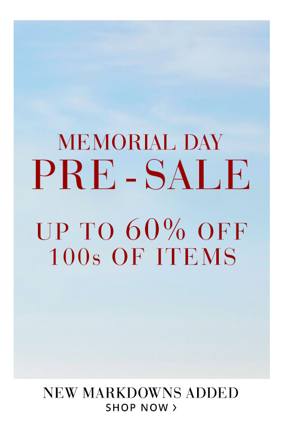 Memorial Pre Sale