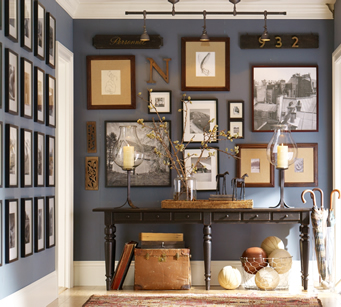 creating a frame gallery for your living room_2
