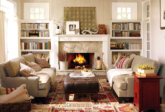 How To Choose A Wall Color In The Living Room | Pottery Barn