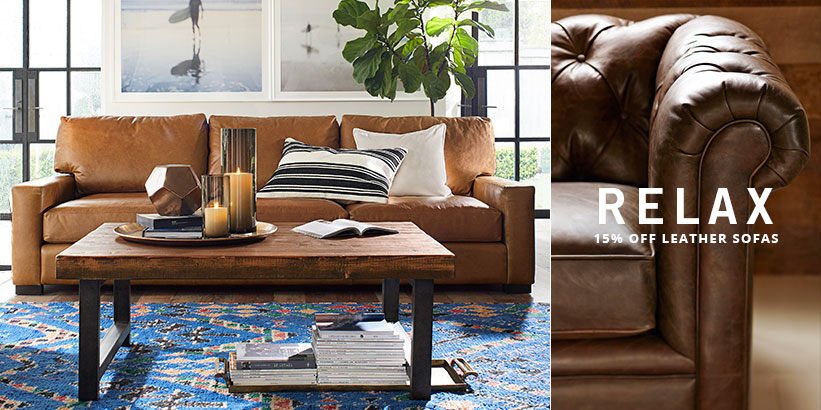 Relax - Leather Sofas Sale
