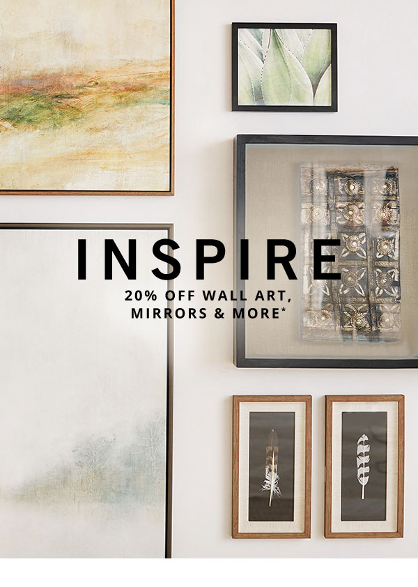 Wall Art, Mirrors & More Sale