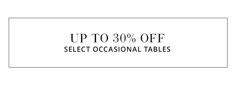 Occasional Table Sale