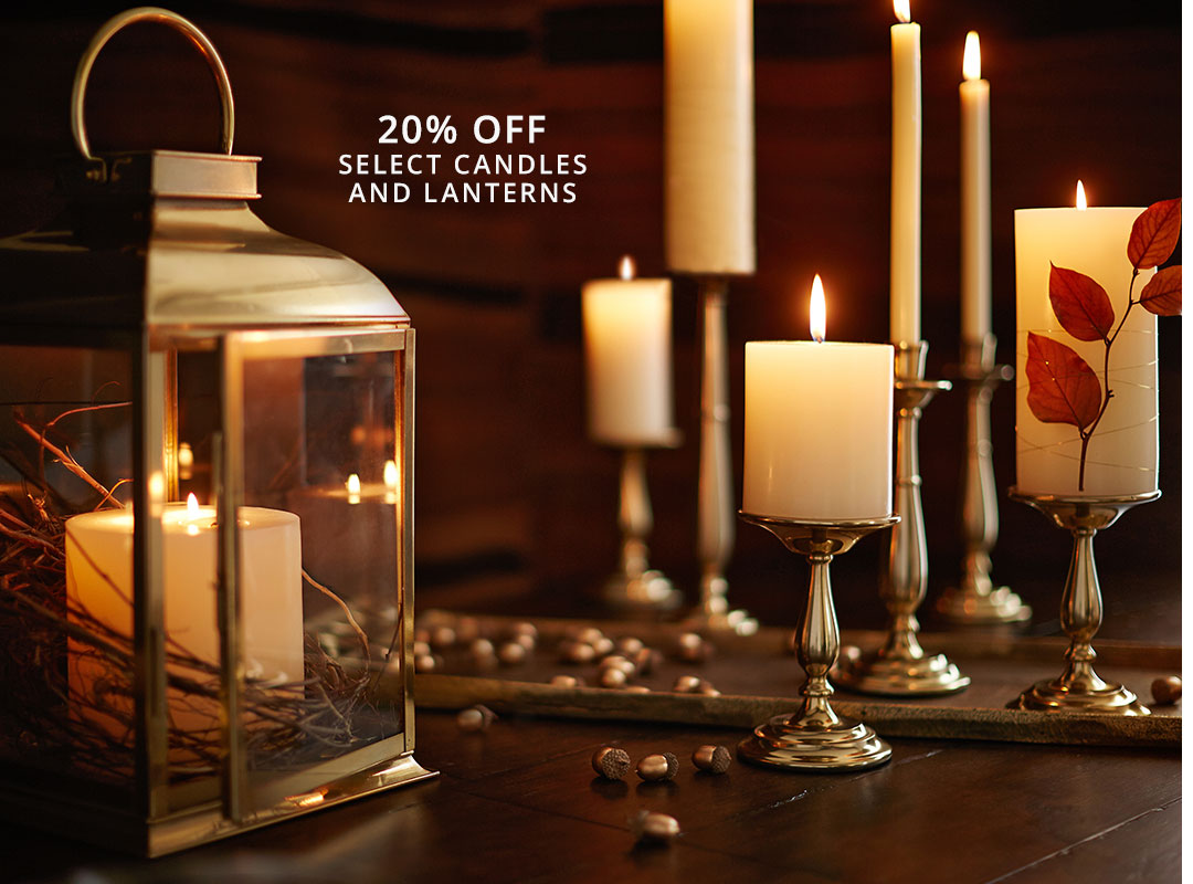 Candles & Lanterns Sale