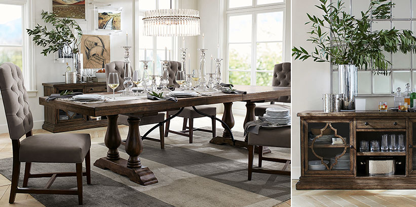Dining Room Decorating Ideas Pottery Barn