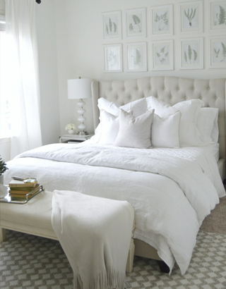 Ultimate White Bedroom