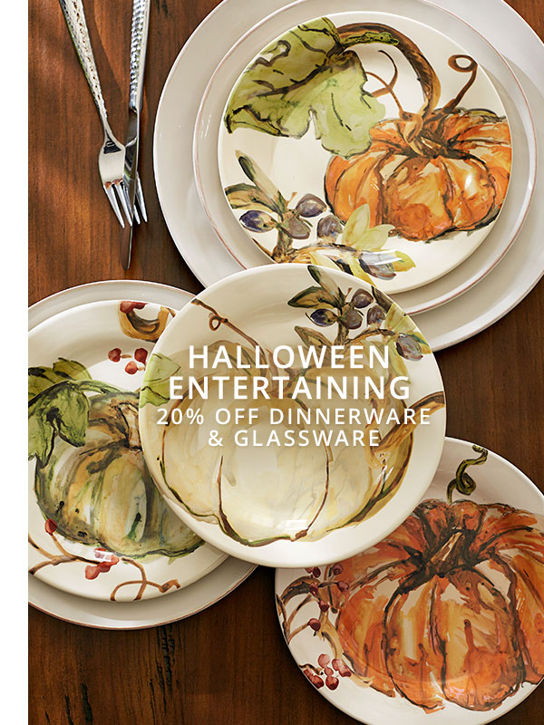 Dinnerware & Glassware Sale