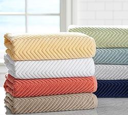 Chevron Bath Towels Sale