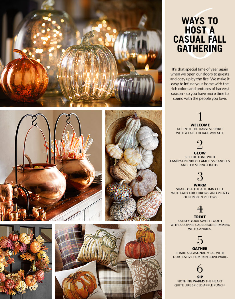 6 Ways To Host A Casual Fall Gathering