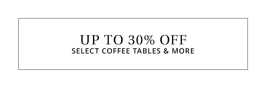 Select Coffee Tables & More Sale
