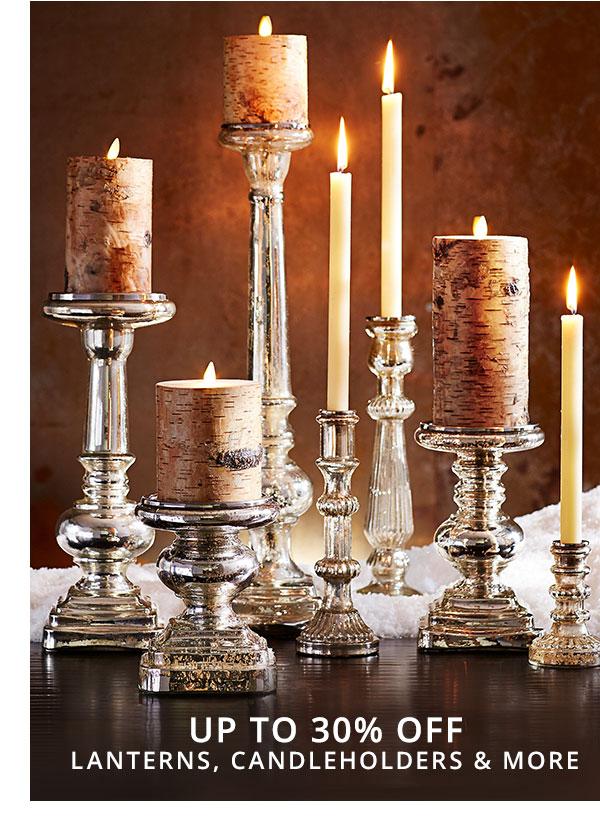 Candleholders & Lanterns Sale