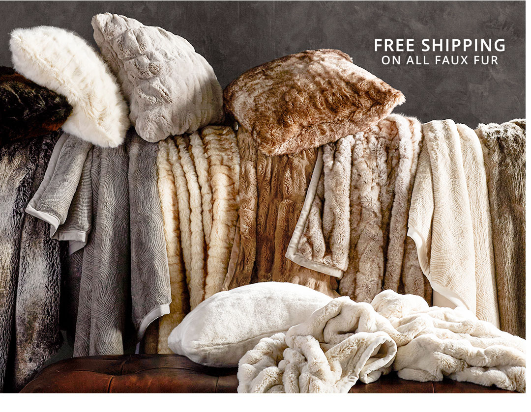 Free Shipping on Throws