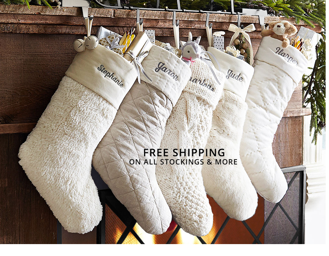 Stockings & More Free Shipping