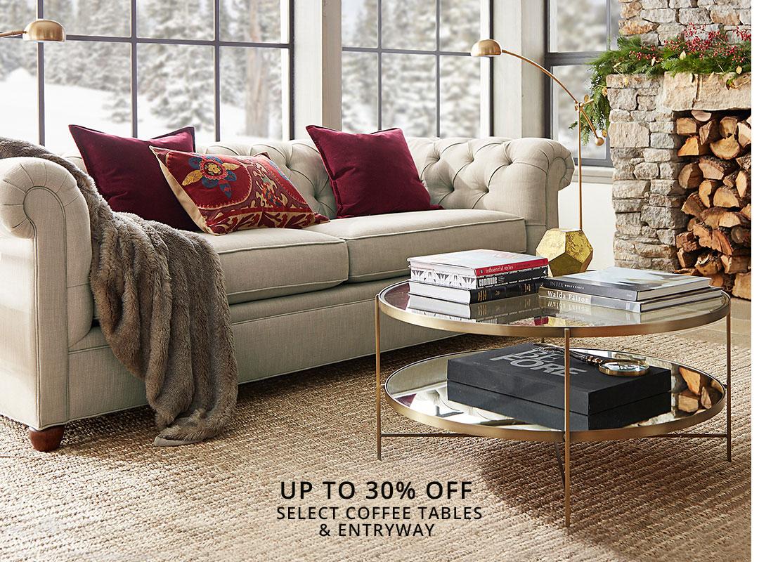 Select Coffee Tables & Entryway
