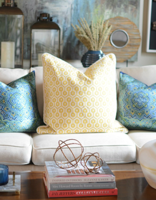 Pattern Play with Pillows