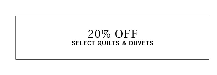 Quilts & Duvets Sale