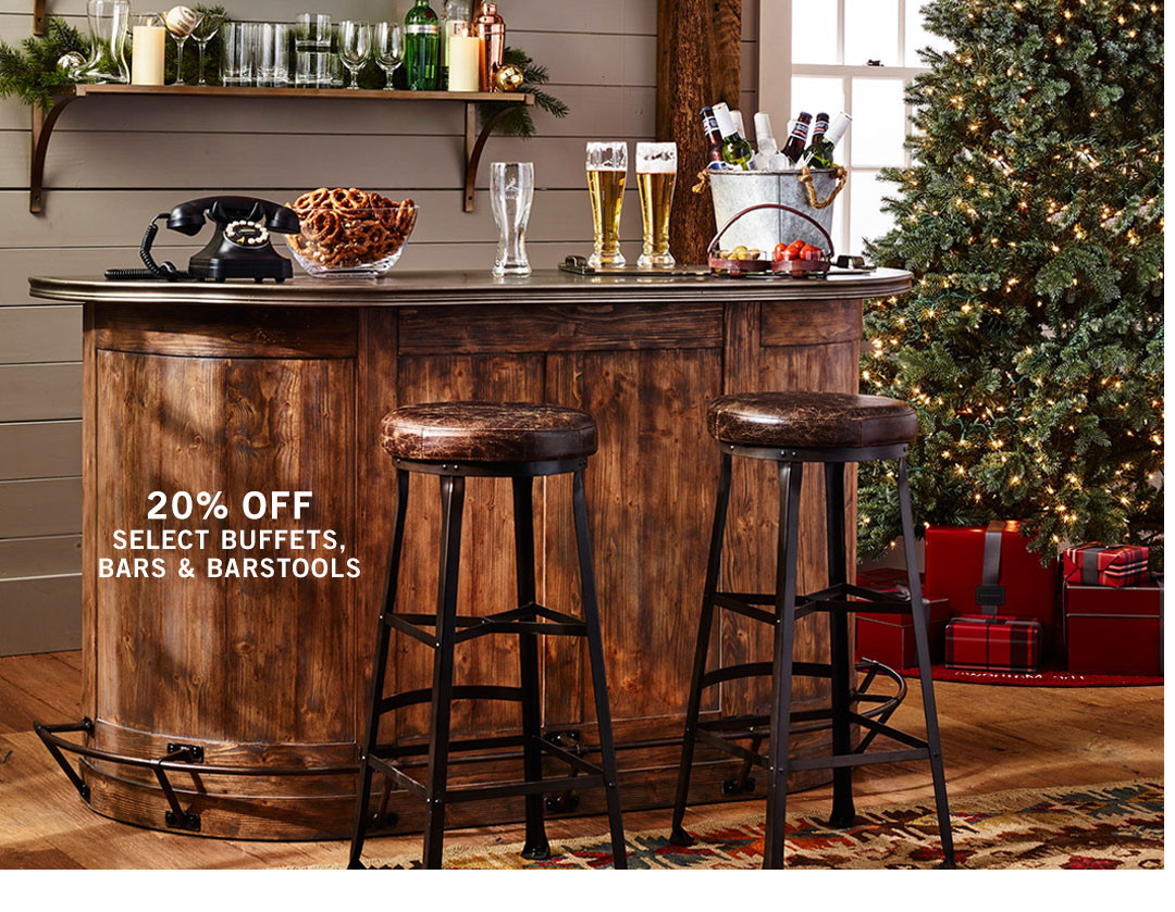 Buffets, Bars & Barstools Sale