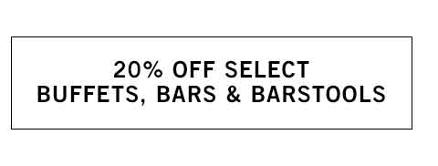 Buffets, Bars & Barstools Sale