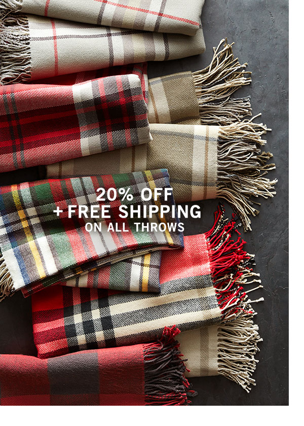 Throws Sale & Free Shipping