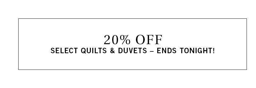 Quilts & Duvets Sale
