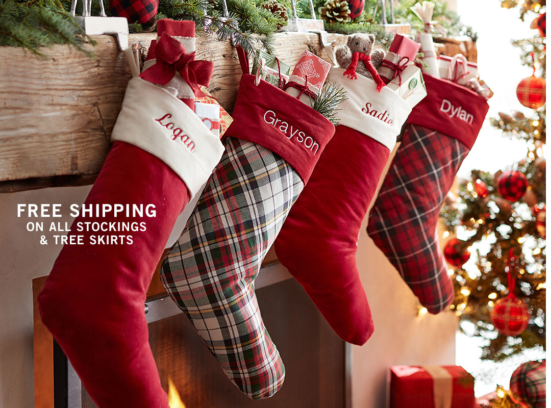 Fast Free Shipping on Stockings & Tree Skirts