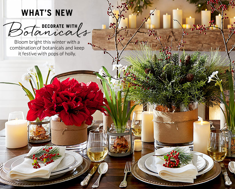 Decorate with Botanicals