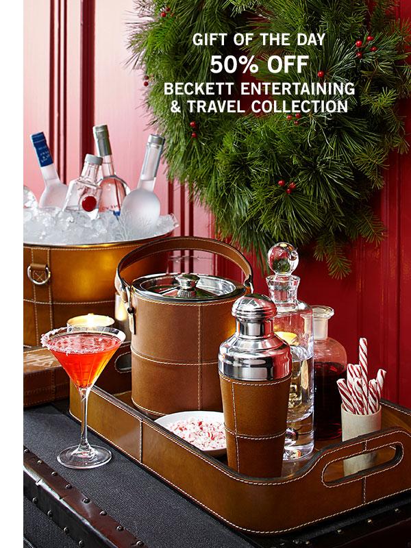 Beckett Entertaining & Travel Collection