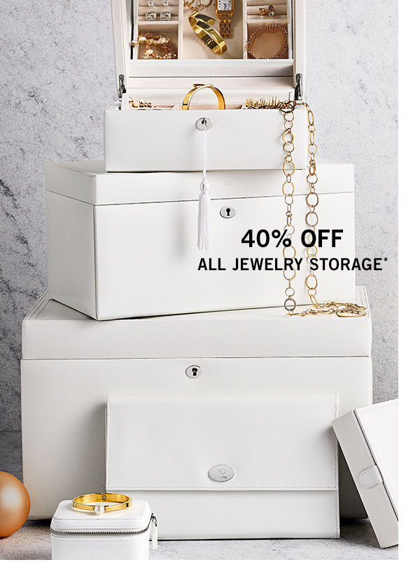 Jewelry Storage Sale