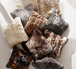 Faux Fur Pillows Sale