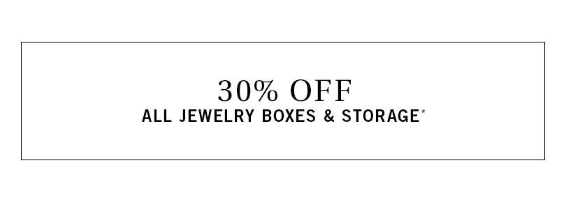 Jewelry Boxes & Storage Sale