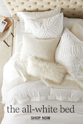 The All-White Bed