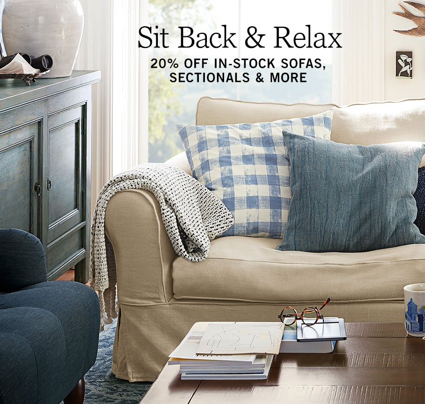 In-Stock Sofas, Sectionals & More Sale