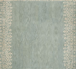 Desa Bordered Wool Rug