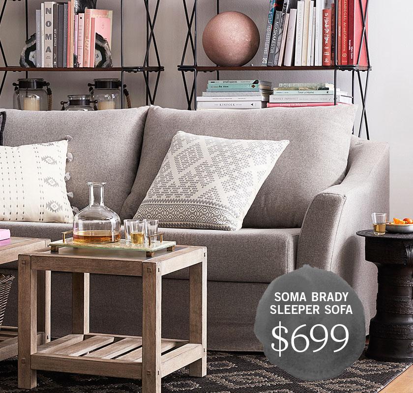 SoMa Brady Sleeper Sofa