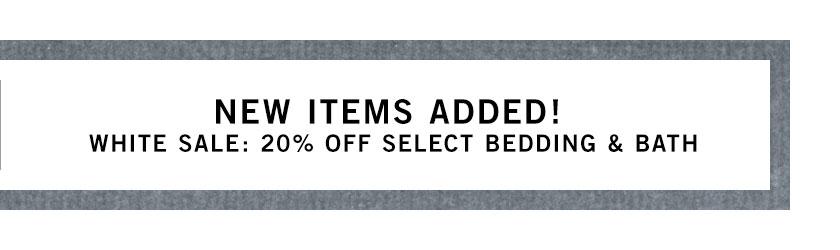 Bedding & Bath Sale