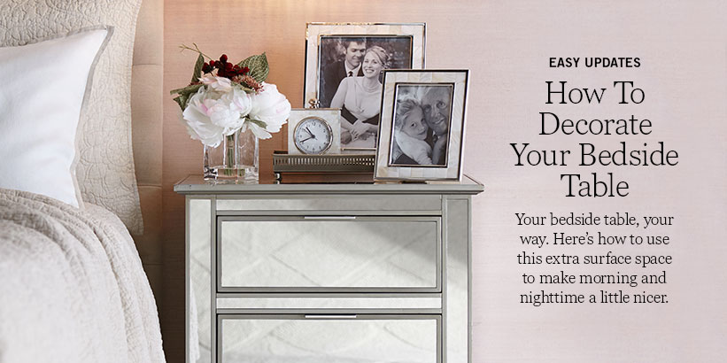 How To Decorate Your Bedside Table