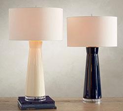 Cerena Ceramic Column Table Lamps