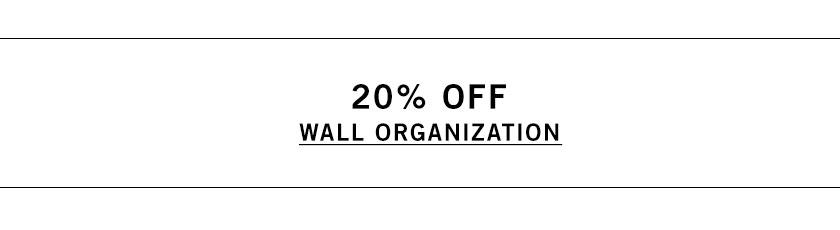 Wall Organization Sale