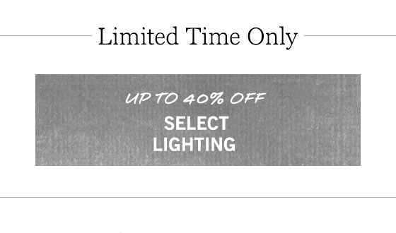 Select Lighting Sale