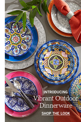 Vibrant Outdoor Dinnerware