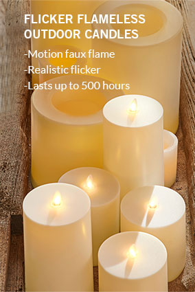 Flicker Flameless Outdoor Candles