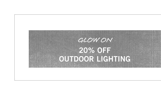 Outdoor Lighting Sale