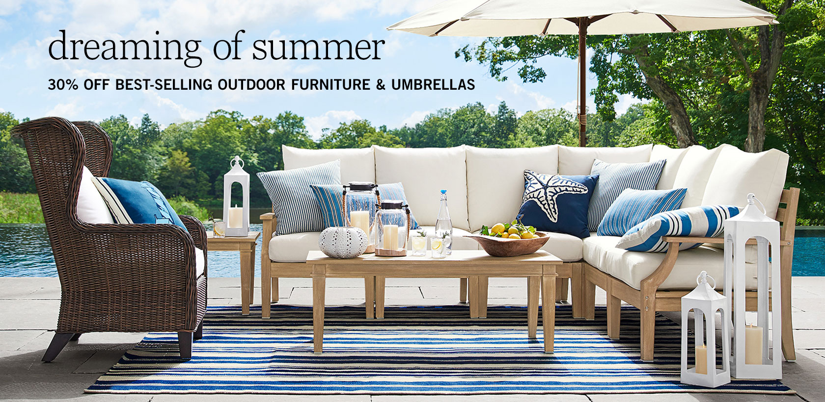 Outdoor Furniture & Umbrellas Sale