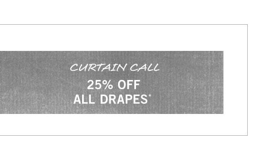 Drapes Sale