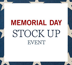 Stock Up Event