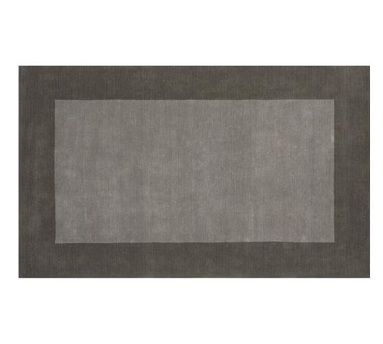Henley Rug, 5x8', Gray